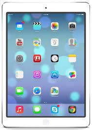 iPad Air screen phoneshut