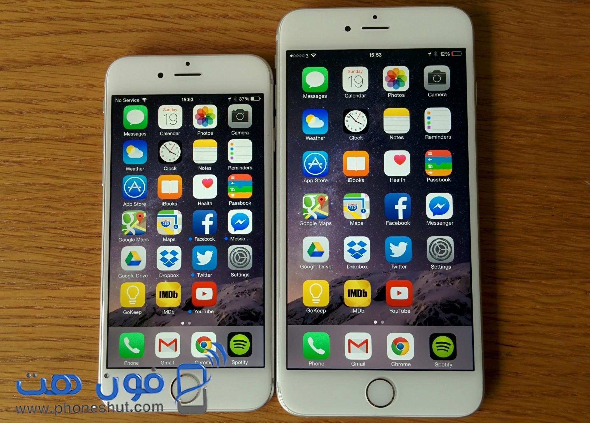 Iphone 4 vs 6