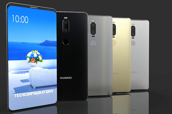 da5b3d146 هواوي تطلق Huawei Mate 10 Pro بخلية عصبية وميزة التفكير البشري لأول ...
