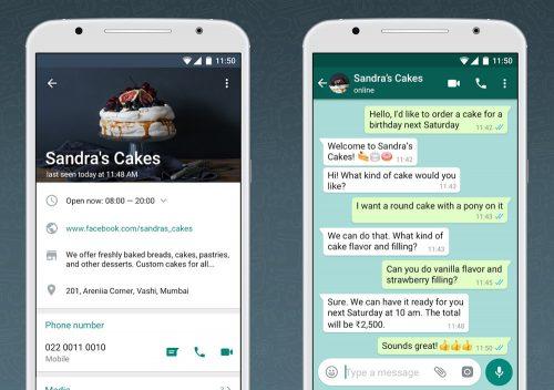 تطبيق واتس أب جديد لرجال الأعمال وأصحاب المشروعات الصغيرة