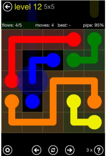 لعبة flow free