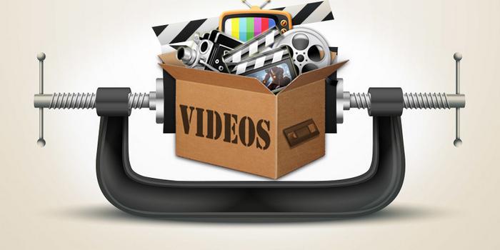 ضغط حجم الفيديوهات أونلاين