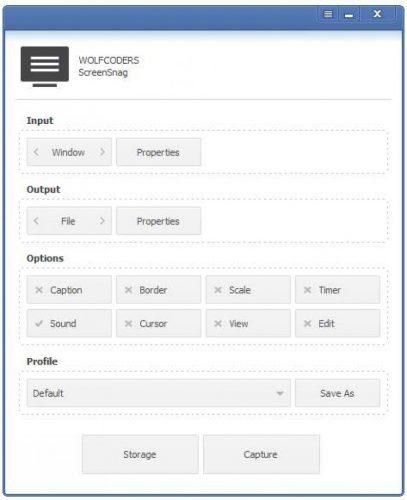 برنامج تسجيل الشاشة screensnag
