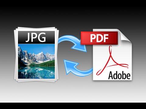 تحويل الصور إلي PDF