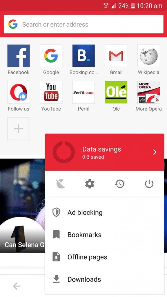 تصفح الإنترنت ببساطة وسهولة من خلال تطبيق Opera Mini