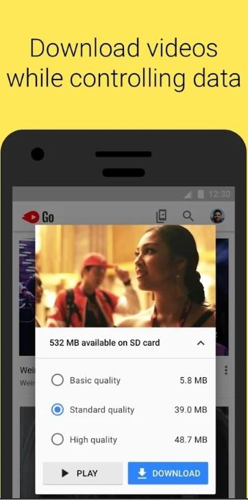 تطبيق YouTube Go النسخة الأفضل لهواتف الجوال من يوتيوب