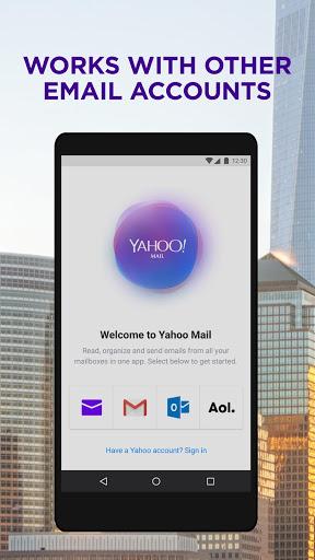 تطبيق Yahoo Mail لإنشاء رسائل البريد الإلكتروني وتنظيمها