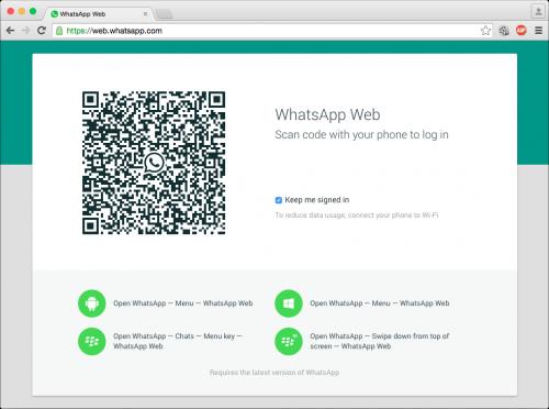 تمتع بمميزات واتساب على جهاز الكمبيوتر من خلال Whatsapp Web