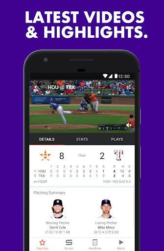 تطبيق Yahoo Sports للحصول على الأخبار الرياضية