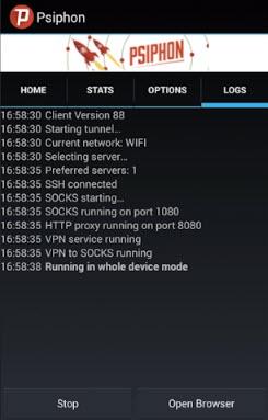 برنامج سايفون لفتح المواقع المحجوبة