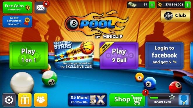 تحميل لعبة 8 ball pool للكمبيوتر ويندوز 7