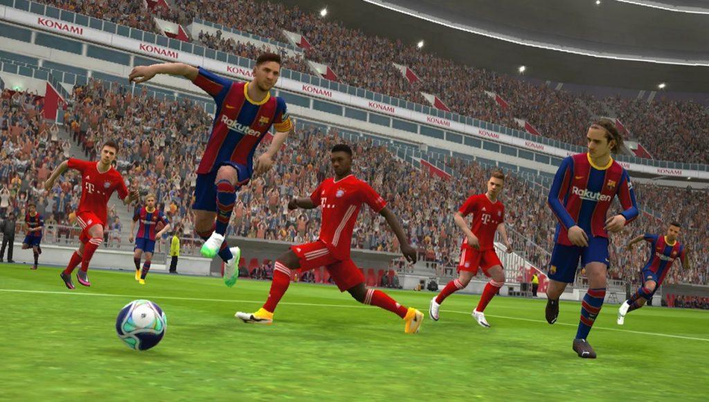 لعبة إي فوتبول برو إفولوشن سوكر 2021