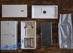 مكونات علبة هاتف Huawei P40 Pro