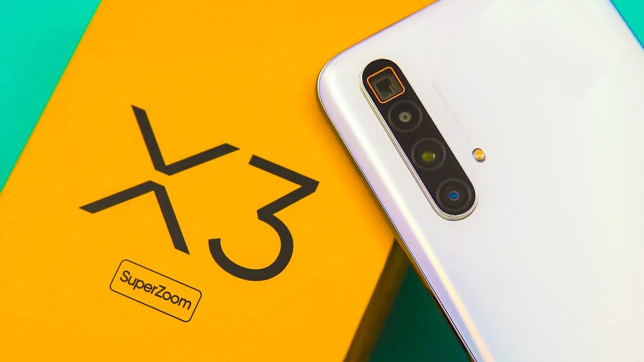 الإعلان عن هاتف Realme X3 SuperZoom في الخارج رسميا