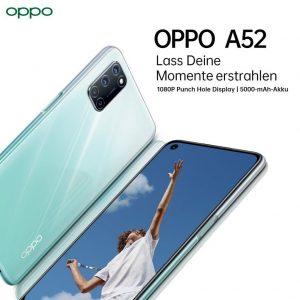 الإعلان عن هاتف Oppo A52 في مصر رسميا