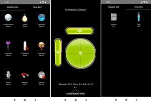 تحميل تطبيق Sensor Box لفحص مستشعرات هواتف الاندرويد